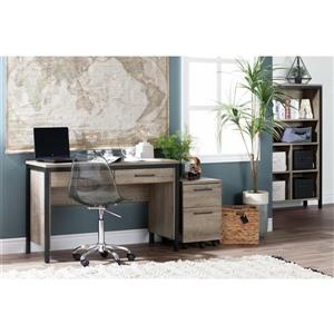 South Shore Furniture Weathered OakMunich 2-Drawer File Cabinet