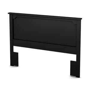 South Shore Furniture Fusion 46.00-In x 65.00-In  Full/Queen Pure Black Headboard
