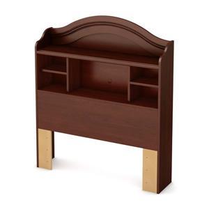 South Shore Furniture Summer Breeze Royal Cherry Twin Bookcase Headboard