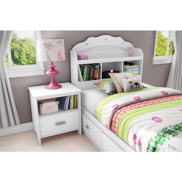 Tête de lit avec bibliothèque Tiara
