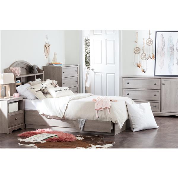 Tête de lit avec bibliothèque Savannah