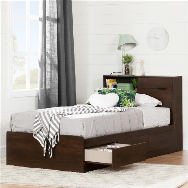 Tête de lit avec rangement Fynn
