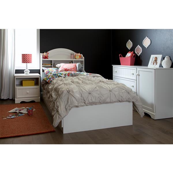 South Shore Furniture Savannah 3 Drawer Dresser with Door