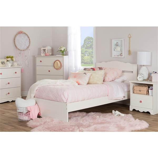 Commode double à 6 tiroirs Lily Rose