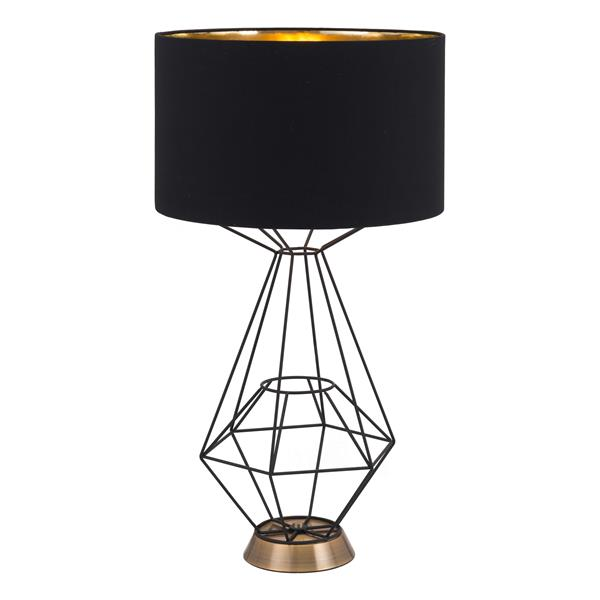 Lampe de Table Delancey,  Noir, 28""