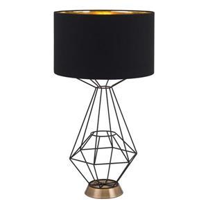 Lampe de Table Delancey,  Noir, 28