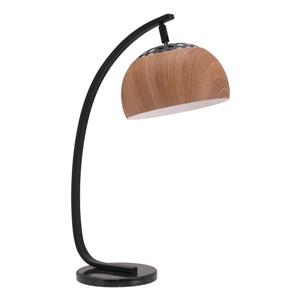 Zuo Modern Brentwood Table Lamp - 27.2-in - Brown and Black