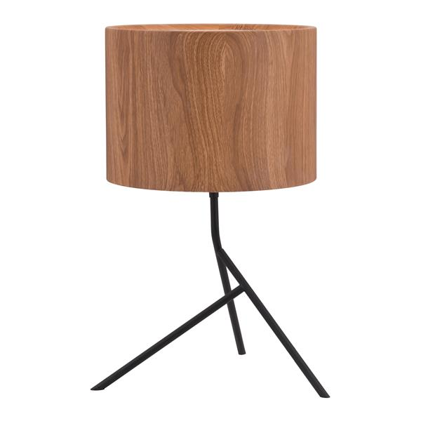 "Lampe de Table Sutton, Brun, 19.9"""