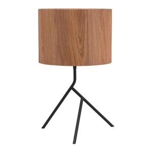 Zuo Modern Sutton Table Lamp - 19.9-in - Brown and Antique Black