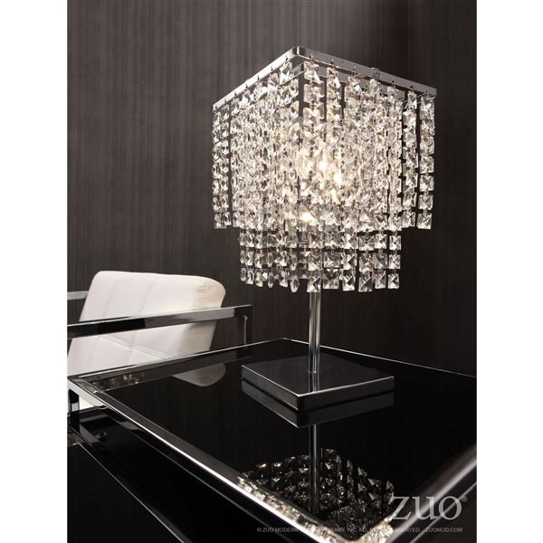 Lampe de Table Falling Stars, Chrome, 16""