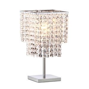 """Lampe de Table Falling Stars, Chrome, 16"""""""
