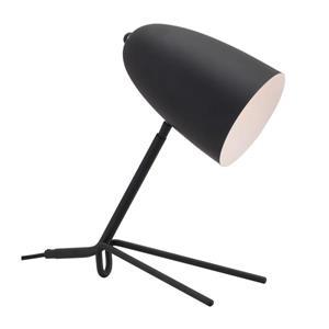 """Lampe de Table Jamison, Noir Mat, 15"""""""