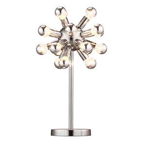 Lampe de Table Pulsar, Chrome, 12