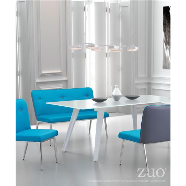 Zuo Modern Dunk Pendant Light - 29.5-in x 43.3-in - White