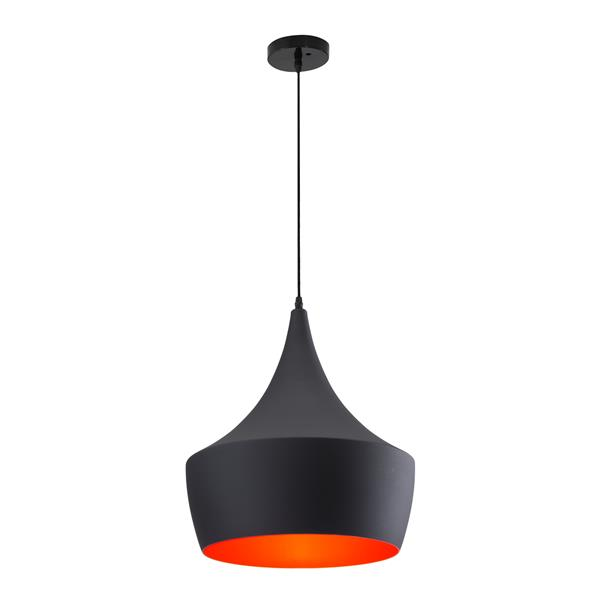 """Luminaire Copper, Noir Mat, 15.7""""x135.3"""""""