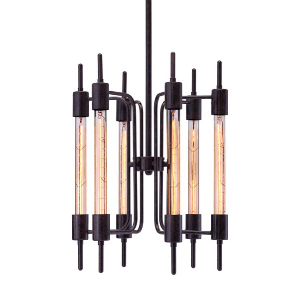 "Luminaire Gisborne, Noir, 15.7""x60"""