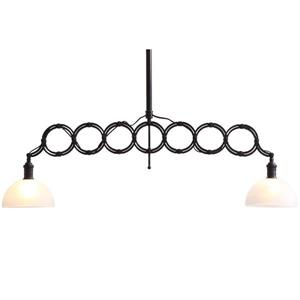 Zuo Modern Jade Pendant Light - 2-Light - 41-in - Black