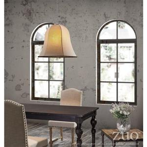 Zuo Modern Granite Collection Pendant Light - 23.6-in x 138.5-in - Beige