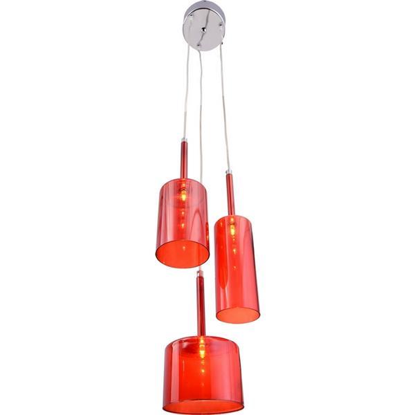 "Suspension Lightning, Rouge,  6.3""x59"""