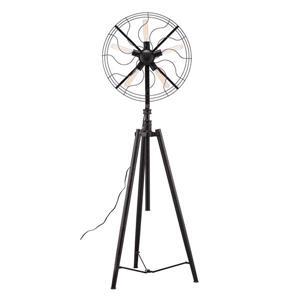 Lampe sur pied à hauteur variable Samsonyte de Zuo Modern, 92,5 po,noir