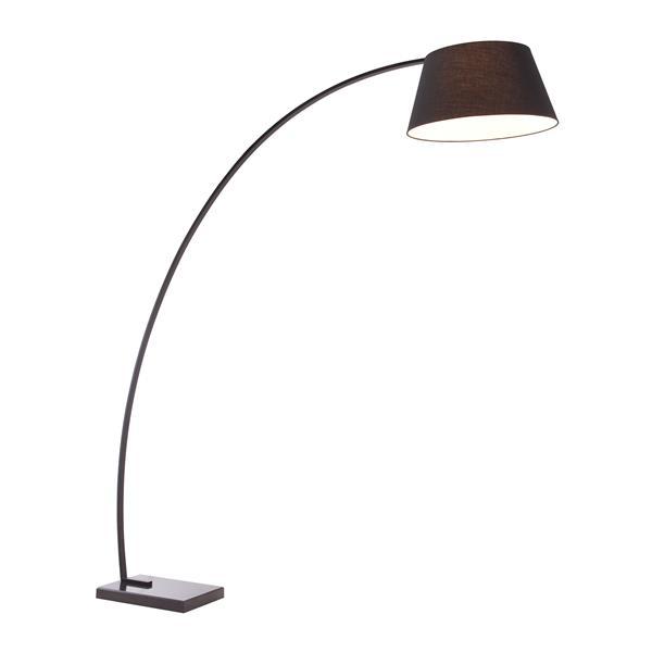 Lampe sur pied Vortex, Noir