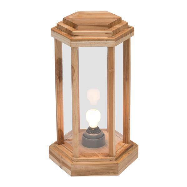 "Grande lampe sur pied Latter, Naturel, 13.8""x22"""