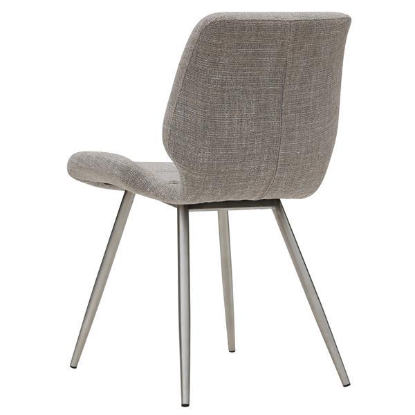 Chaise !nspire, ens. de 2, brun