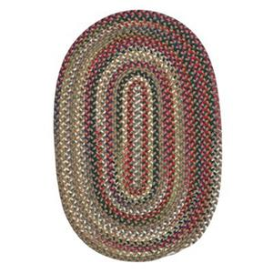 Colonial Mills Chestnut Knoll Straw Beige 8-ft Round Multicoloured Area Rug