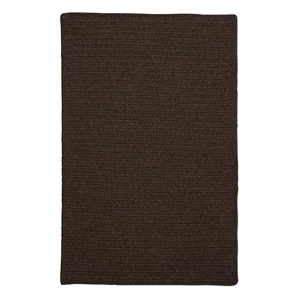 Colonial Mills Courtyard 4-ft Square Cocoa Area Rug
