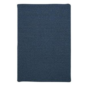 Colonial Mills Westminster 6-ft Square Federal Blue Area Rug