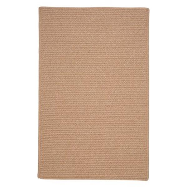 Colonial Mills Westminster Oatmeal 4-ft x 6-ft Brown Area Rug