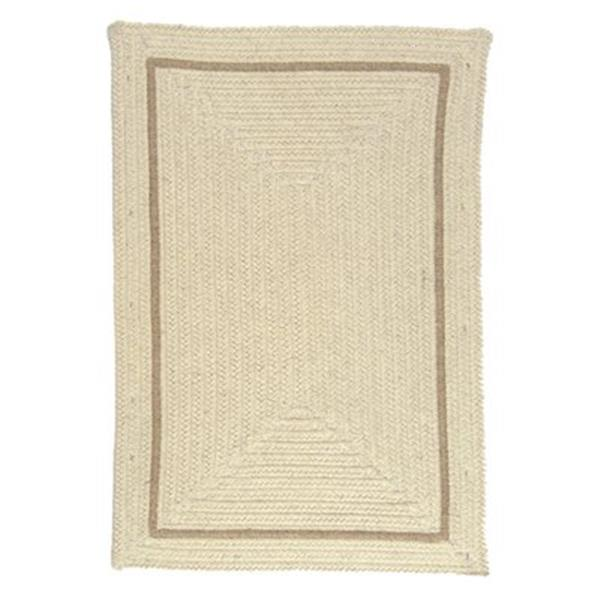 Colonial Mills Shear Natural Canvas 4-ft x 6-ft Off-White Area Rug