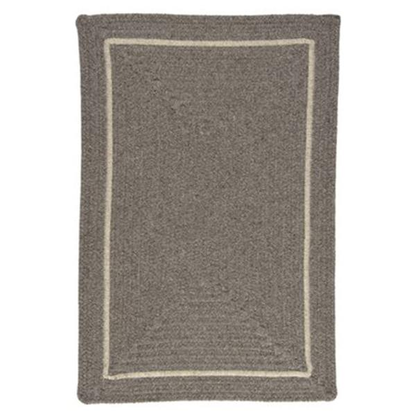 Colonial Mills Shear Natural 4-ft Square Rockport Grey Area Rug