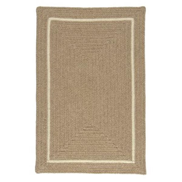 Colonial Mills Shear Natural Muslin 8-ft Square Brown Area Rug