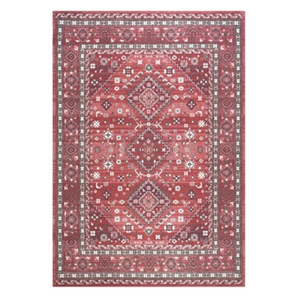 nuLOOM Daenerys Persian 5-ft x 8-ft Red Area Rug
