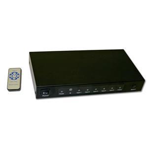 Interrupteur HDMI, 5 en 1 sortie