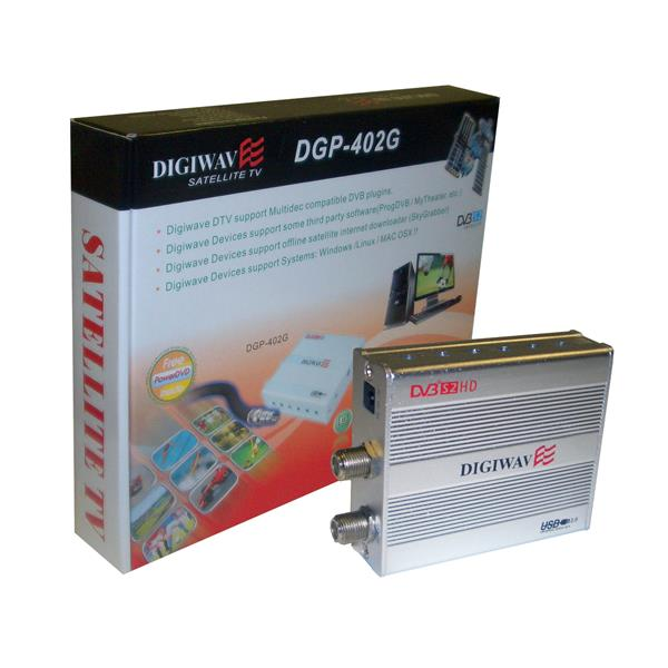 Digiwave HD Satellite Computer External USB Box