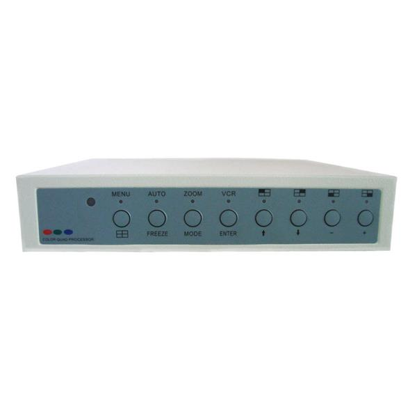 Seqcam 4-Channel Processor with Alarm and Remote