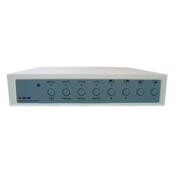 Processeur  4 canaux avec alarme et télécommande