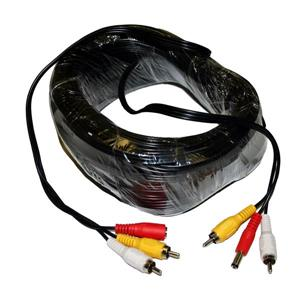 Seqcam RCA Audio Video Cable - 75-Feet