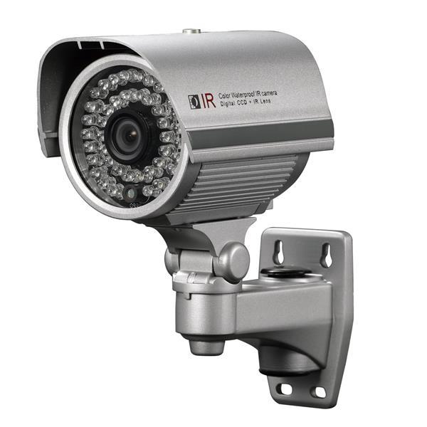 Caméra de sécurité en couleur IR, étanche