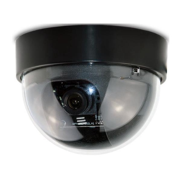 Caméra de sécurité couleur à dome, plastique