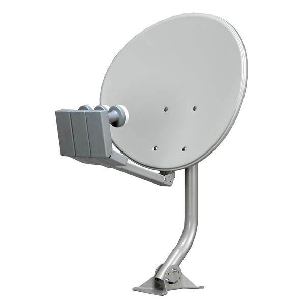 """Antenne satellite elliptique, 24"""""""