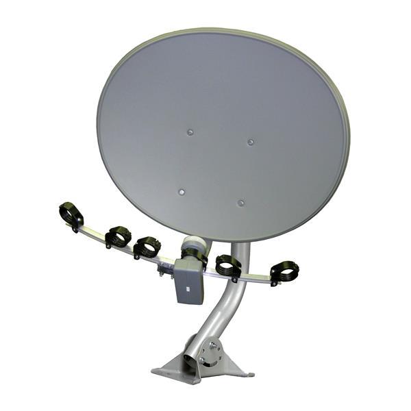 """Antenne satellite elliptique, 30"""""""
