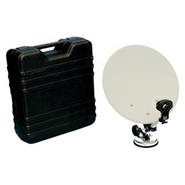 Digiwave Gray Portable Offset Satellite Dish