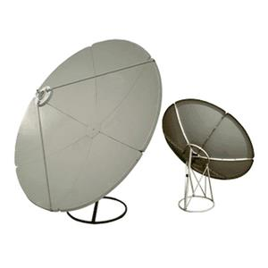 Digiwave Prime Focus 70.87-in Gray Satellite Dish