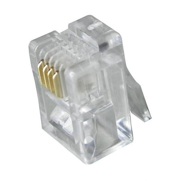 Digiwave RJ11 Plug 4P4C (100-pack)