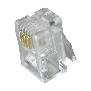 Connecteur Digiwave RJ11 4P4C, paquet de 100