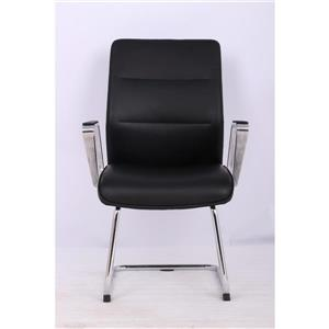 TygerClaw 19-in x 38.78-in Black Upholstered Office Chair