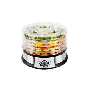 Ecohouzng Black Stainless Steel Round Food Dehydrator